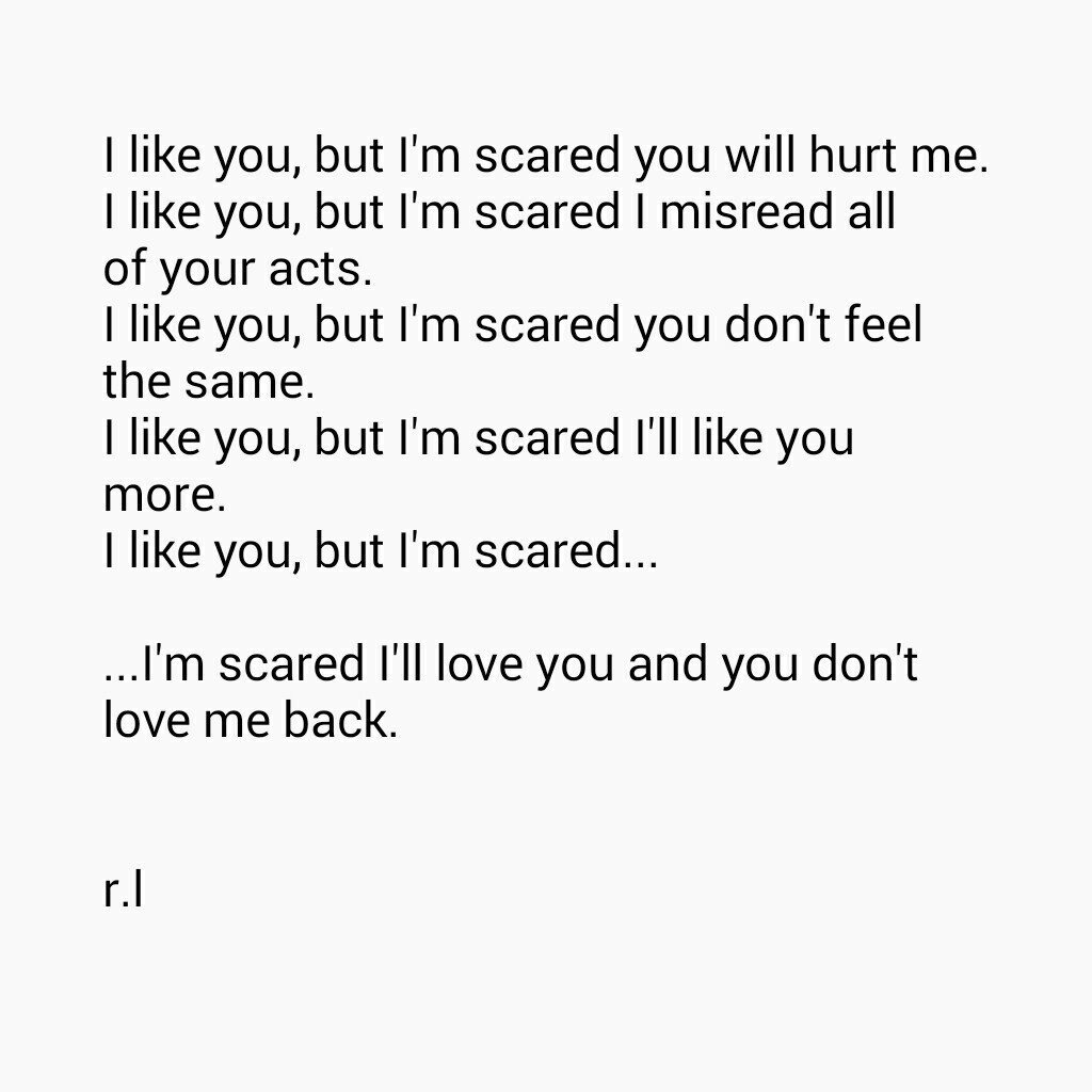 Scared To Love Quotes  13 Quotes About Being Scared LAUGHTARD
