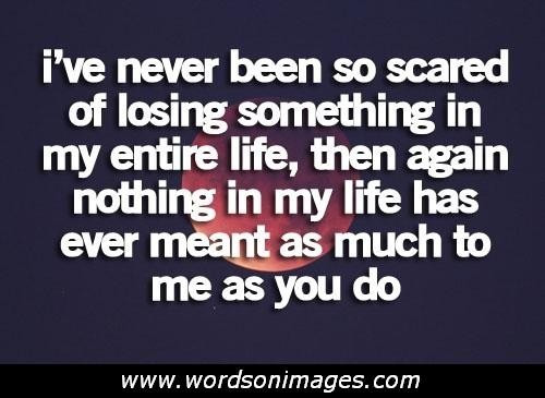 Scared To Love Quotes  I wish moon always be full bright and u always be cool