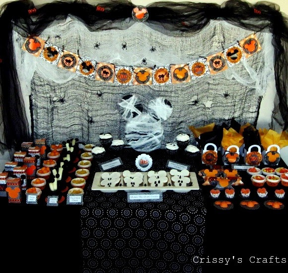 Scariest Halloween Party Ideas  Mickey s Not So Scary Halloween Party Party Ideas