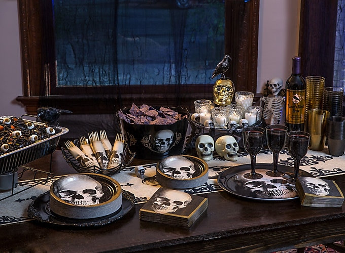 Scariest Halloween Party Ideas  Shocking & Savory Halloween Buffet Ideas Party City