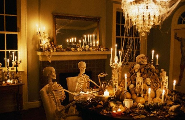 Scariest Halloween Party Ideas  Scary Halloween decorations – how to make a creepy décor