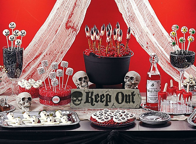 Scariest Halloween Party Ideas  Scary Halloween Sweets & Treat Ideas Party City