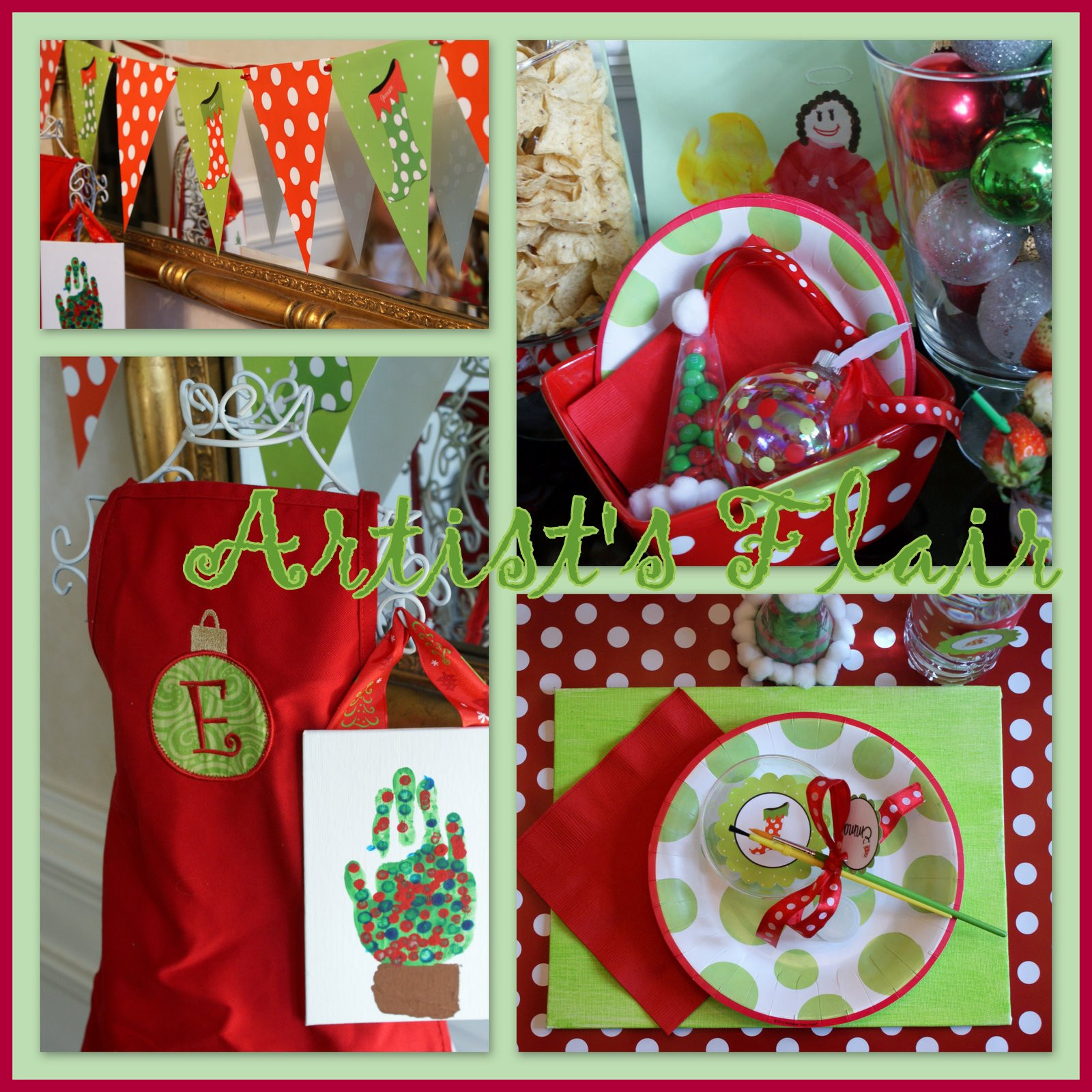 School Christmas Party Ideas  A Little Loveliness Christmas P art y
