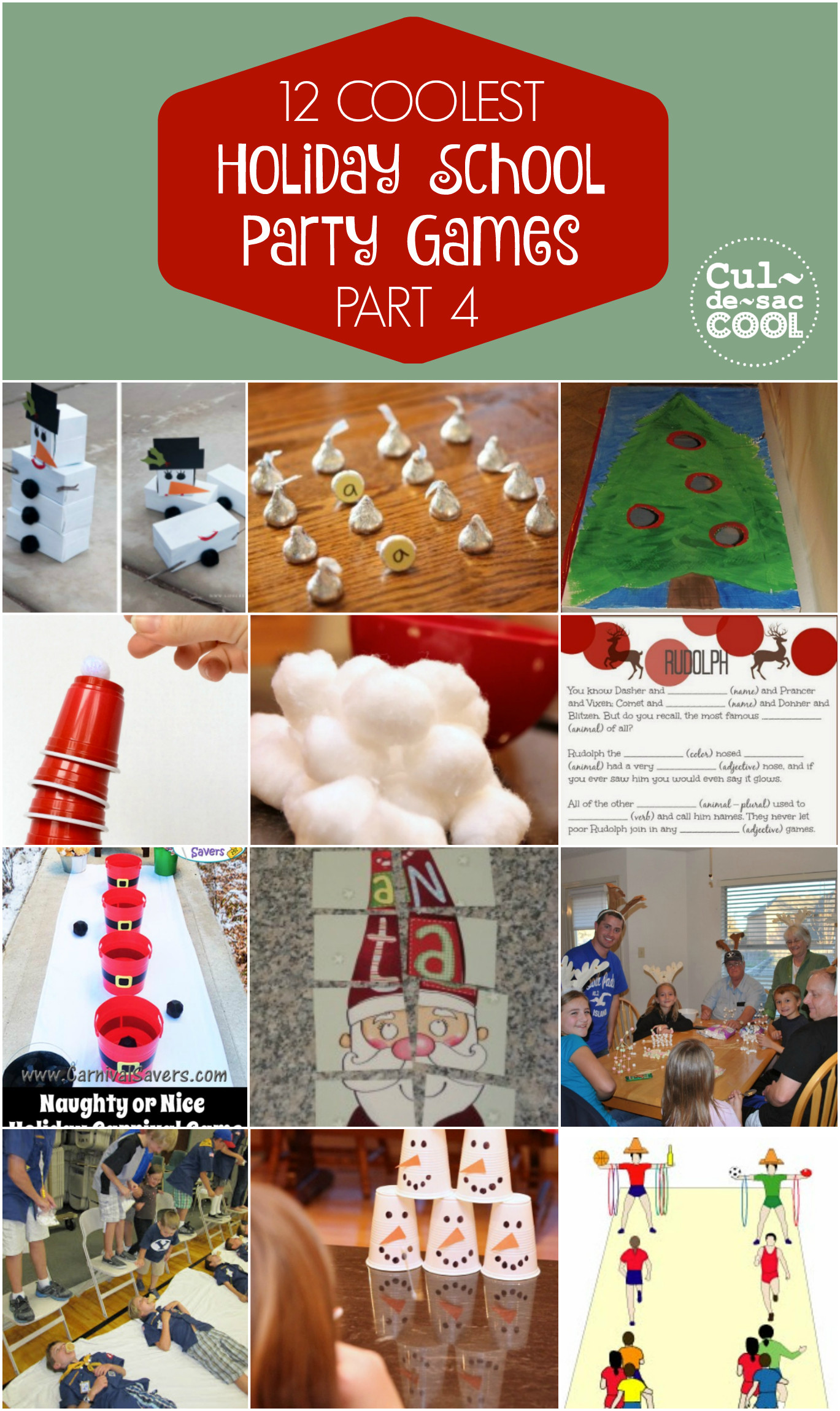 School Christmas Party Ideas  12 COOLEST HOLIDAY SCHOOL PARTY GAMES — PART 4