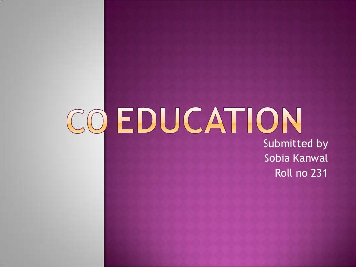 Sex Education Quotes  Coeducation