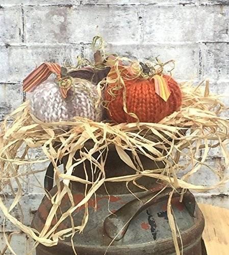Shabby Chic Fall Decor  Amazon Shabby Chic Pumpkins Fall Decor Homemade