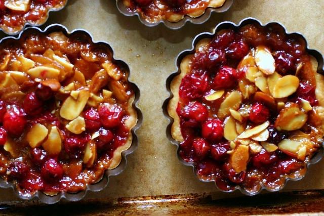 Smitten Kitchen Thanksgiving  cranberry caramel and almond tart – smitten kitchen
