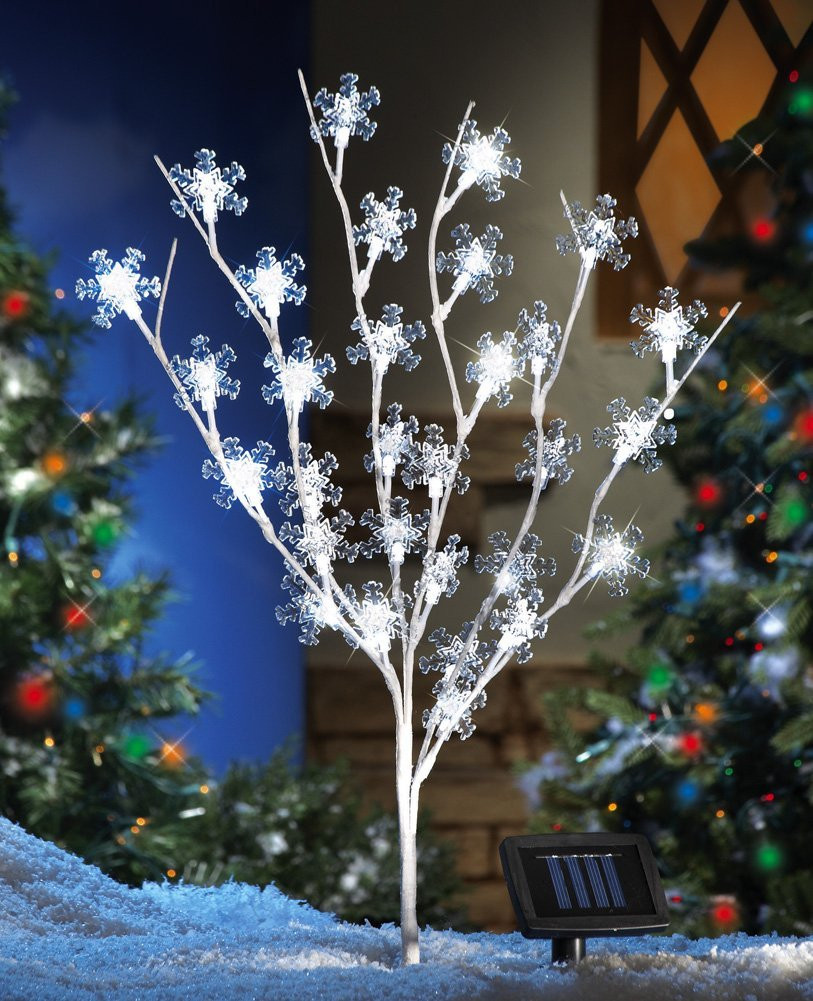 Solar Outdoor Christmas Lights  Attractive Christmas Home Decoratives