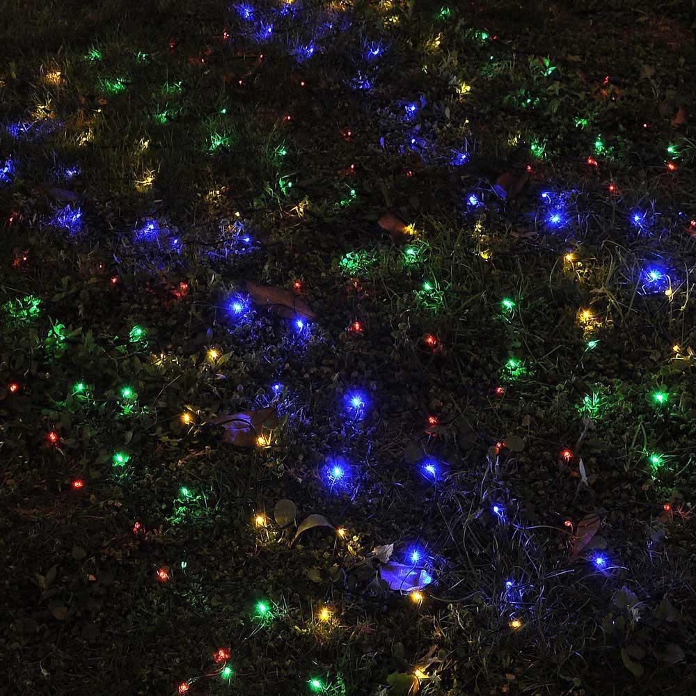 Solar Outdoor Christmas Lights  100 LED Solar String Light Power Fairy Outdoor Yard Lawn