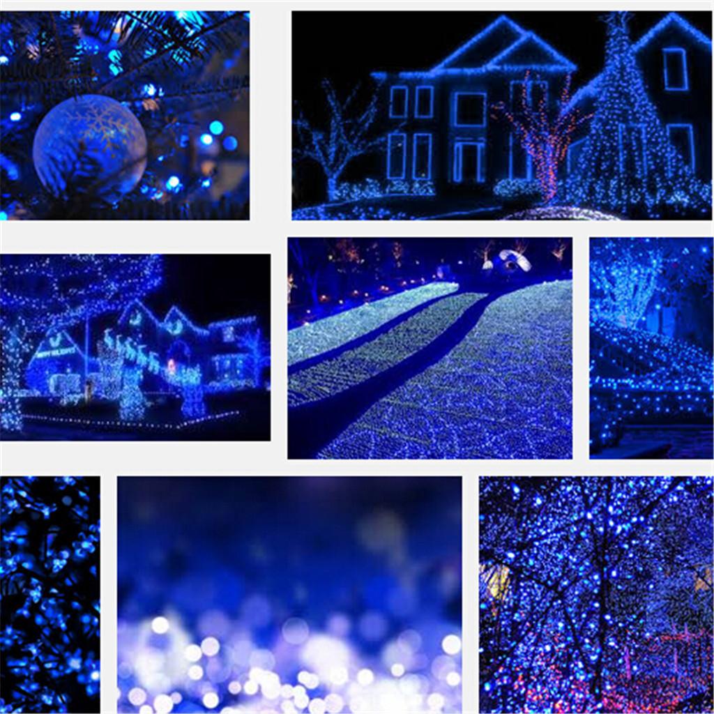 Solar Outdoor Christmas Lights  17M 100 LED Solar Power Christmas Wedding Xmas Party
