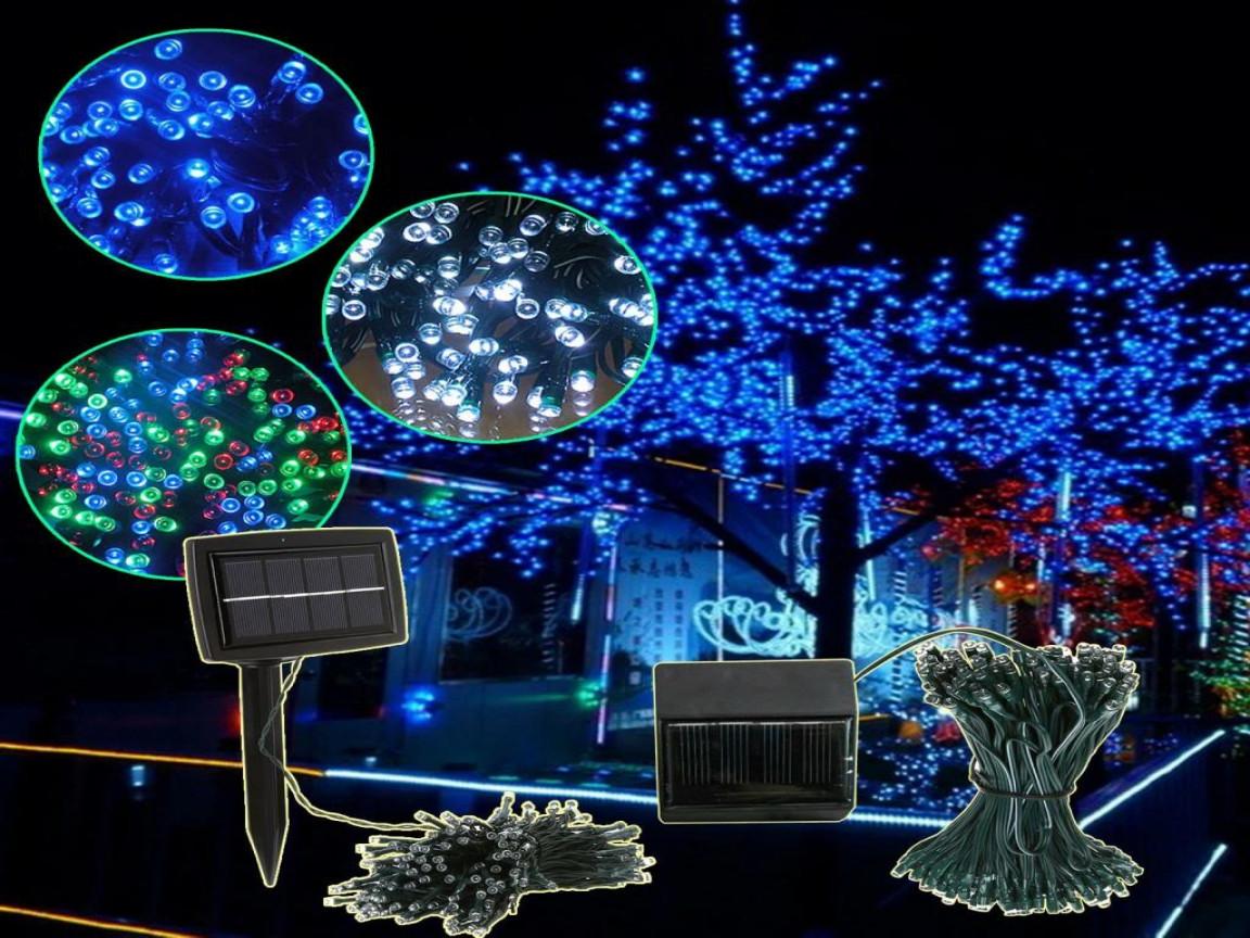 Solar Outdoor Christmas Lights  Led string lights outdoor solar led christmas lights