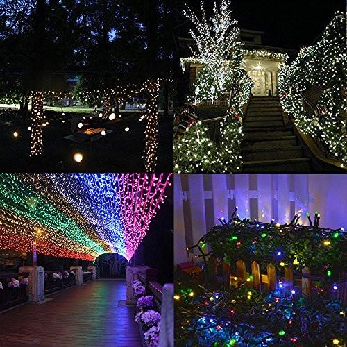 Solar Outdoor Christmas Lights  Solar String lights Outdoor Addlon Led Christmas Lights