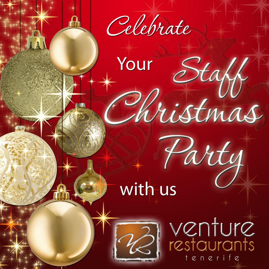 Staff Christmas Party Ideas  2014 October Venture Restaurants