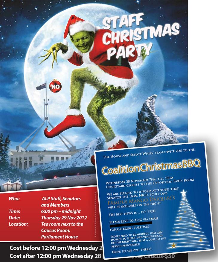 Staff Christmas Party Ideas  Australian Politics