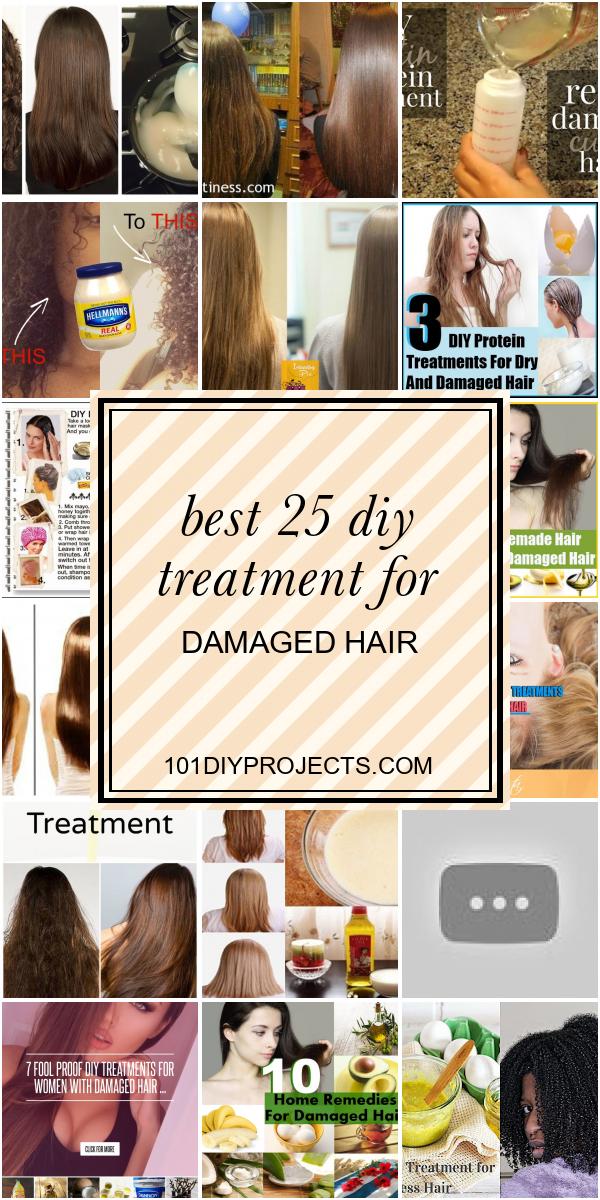 Best Diy Treatment For Damaged Hair