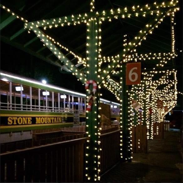 Stone Mountain Christmas 2019  8 Holiday Train Adventures Around Georgia