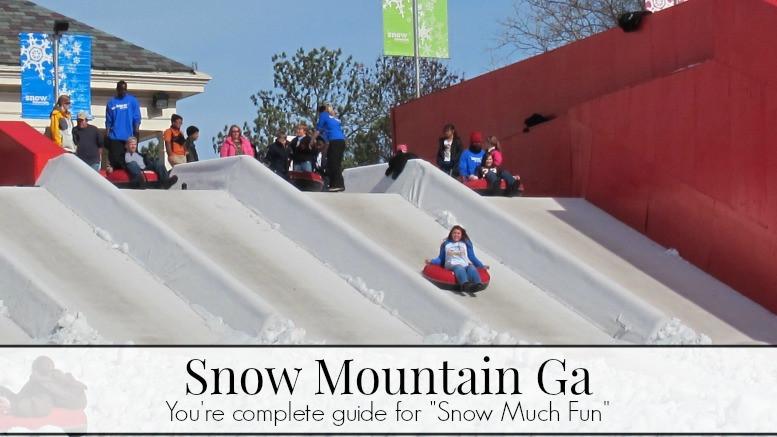 "Stone Mountain Christmas 2019  Snow Mountain Ga Your plete guide for ""snow much fun"