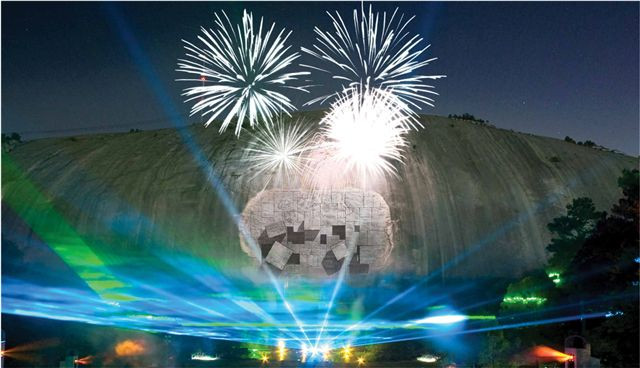 Stone Mountain Christmas 2019  Turn Stone Mountain's Lasershow into a Minivacay Atlanta