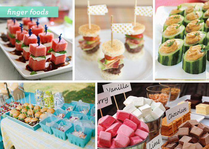 Summer Food Party Ideas  Backyard Gone Glam 3 summer party food ideas