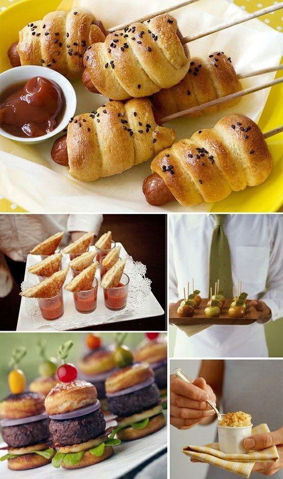 Summer Food Party Ideas  Delicious alternative wedding day eats