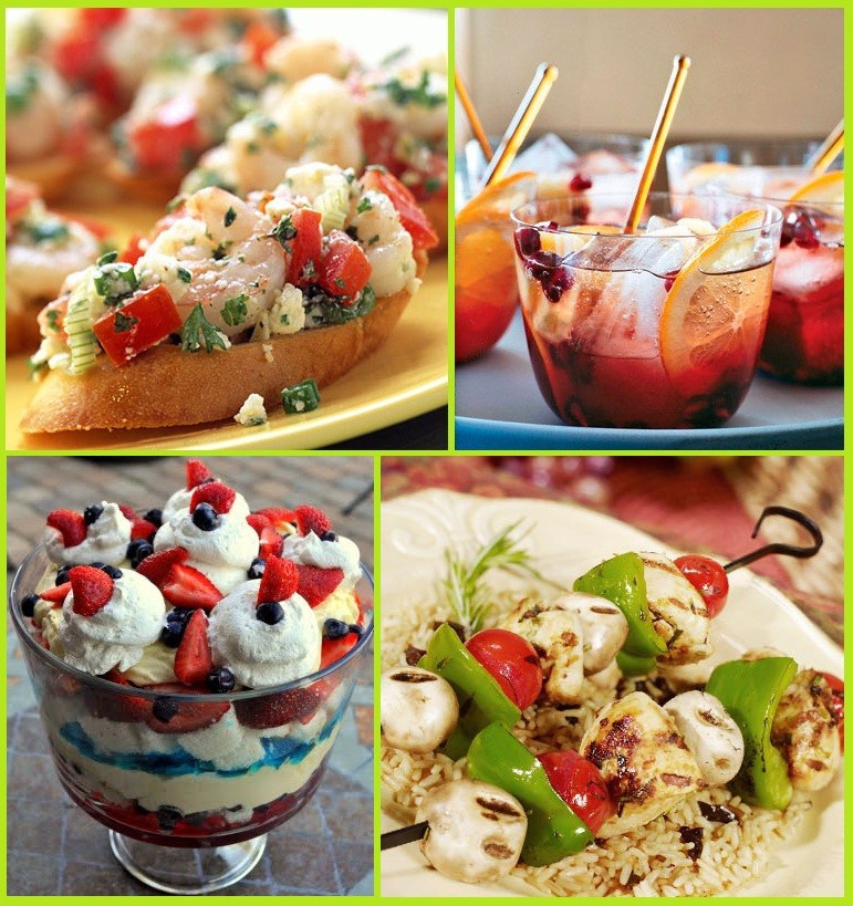 Summer Food Party Ideas  24 Summer Party Food Ideas Memorial Day 4th of July
