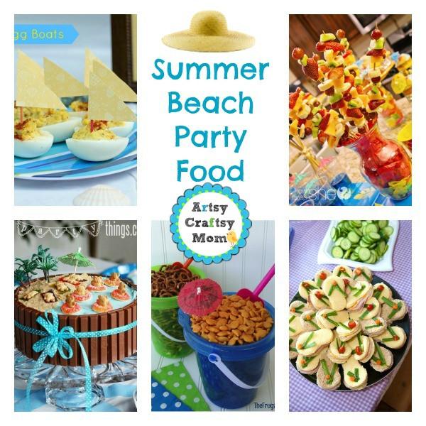Summer Food Party Ideas  25 Summer Beach Party Ideas
