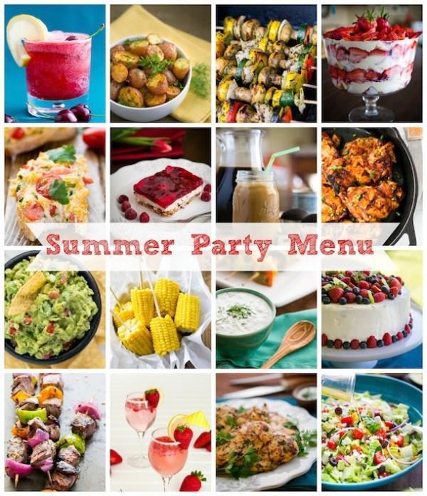 Summer Food Party Ideas  Summer Party Menu Ideas NatashasKitchen