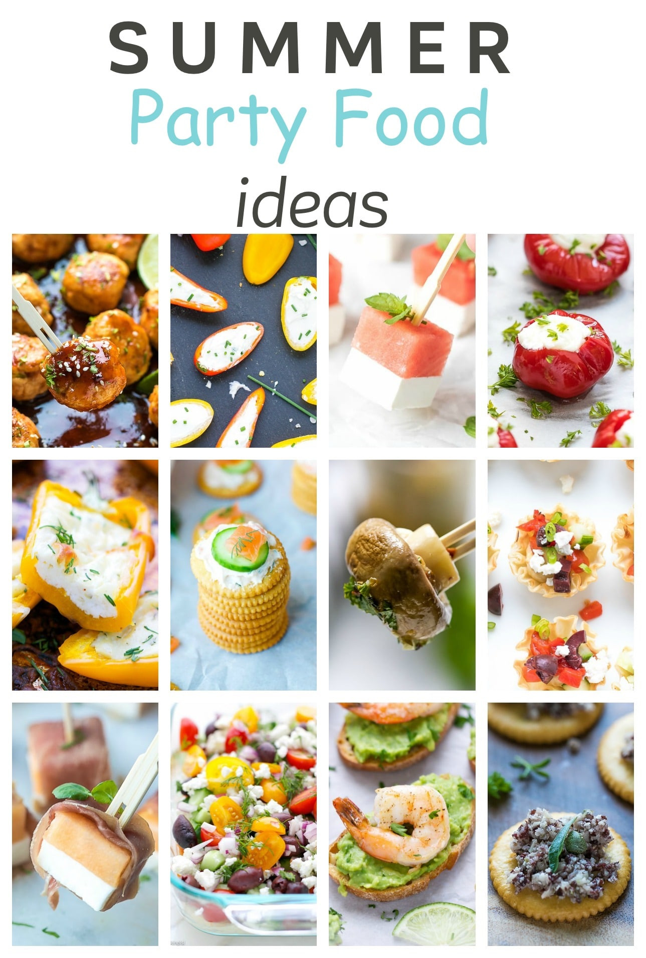 Summer Food Party Ideas  Easy Summer Party Food Ideas Cooking LSL