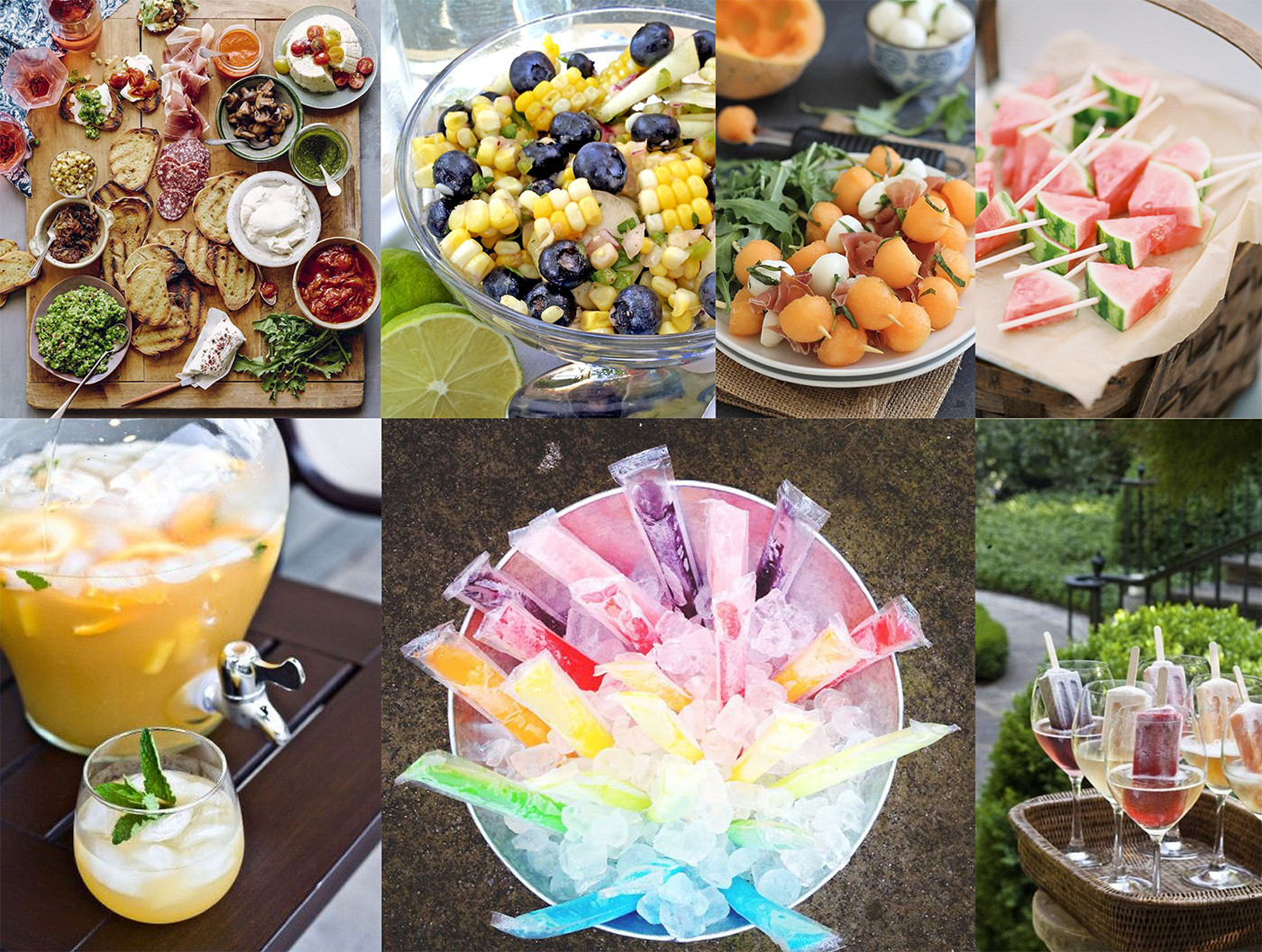 Summer Food Party Ideas  Your Guide to Summer Entertaining – Brewster Home