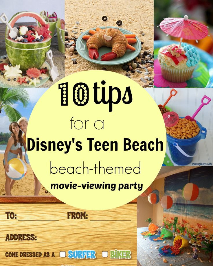 Summer Party Ideas For Teens  25 best ideas about Teen Beach Party on Pinterest