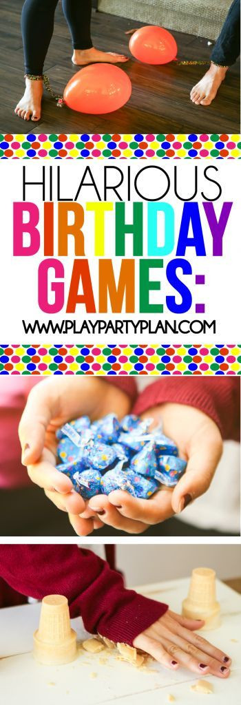 Summer Party Ideas For Teens  These hilarious birthday party games are great for teens