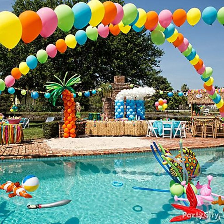 Summer Pool Party Ideas For Adults  Marvelous Pool Party Decoration Ideas for Adult