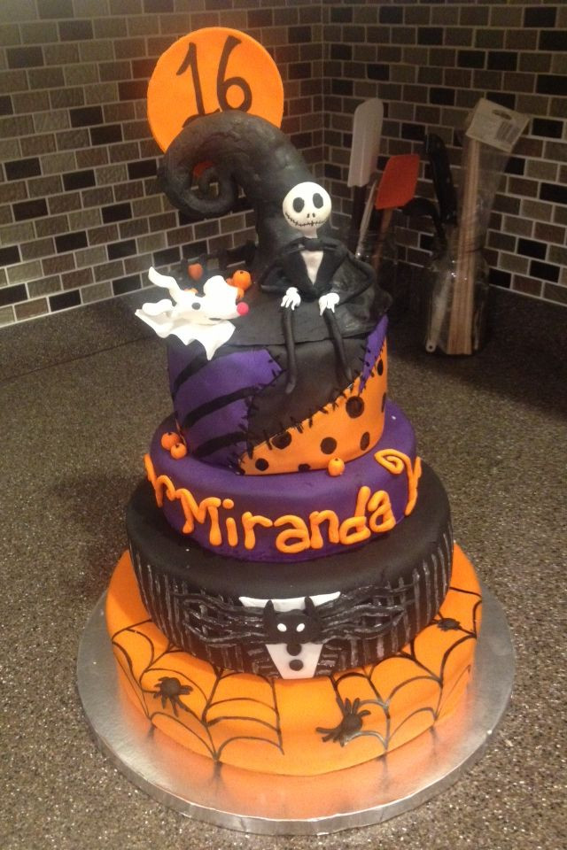 Sweet 16 Halloween Party Ideas  36 best Desserts by Dana images on Pinterest