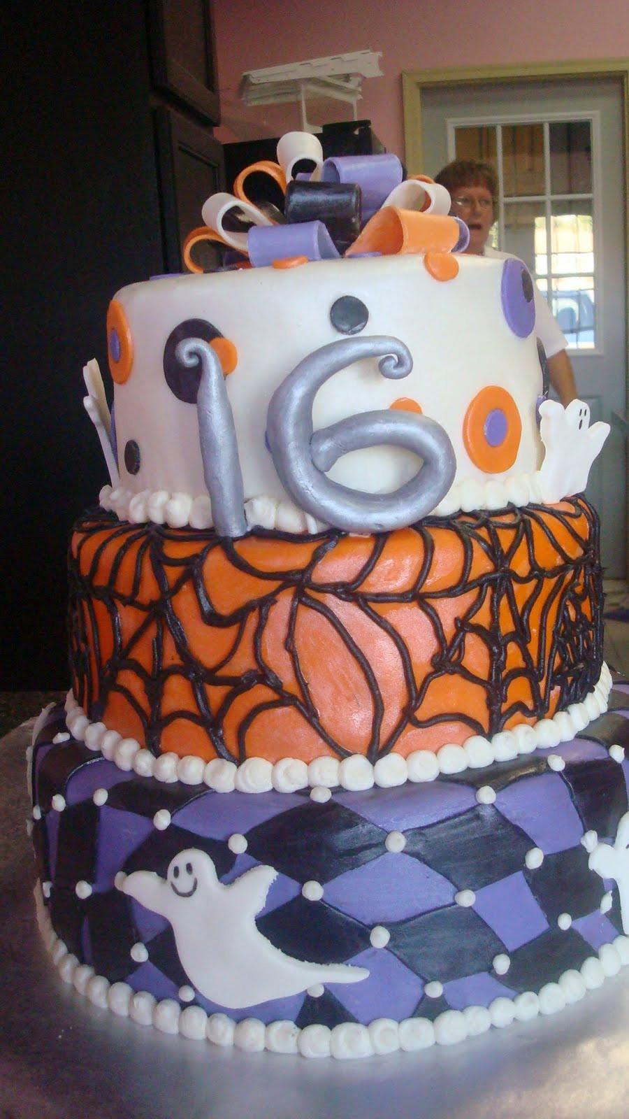 Sweet 16 Halloween Party Ideas  5 Times As Sweet Cakes Halloween Sweet 16