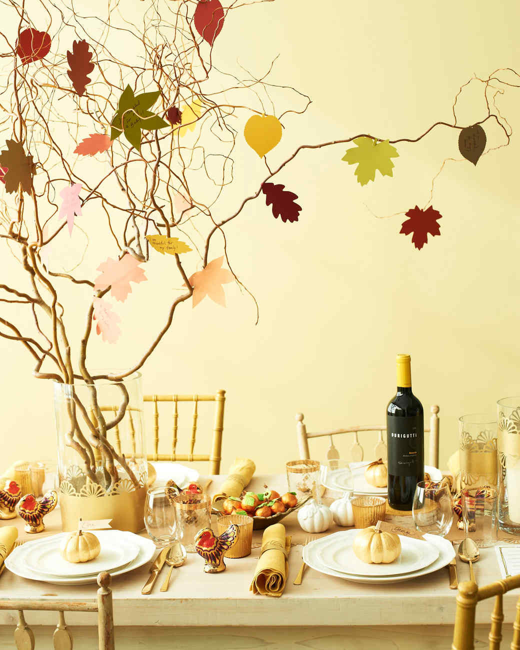 Table Decorations For Thanksgiving  Tree Centerpieces Time to Branch Out with Your Table
