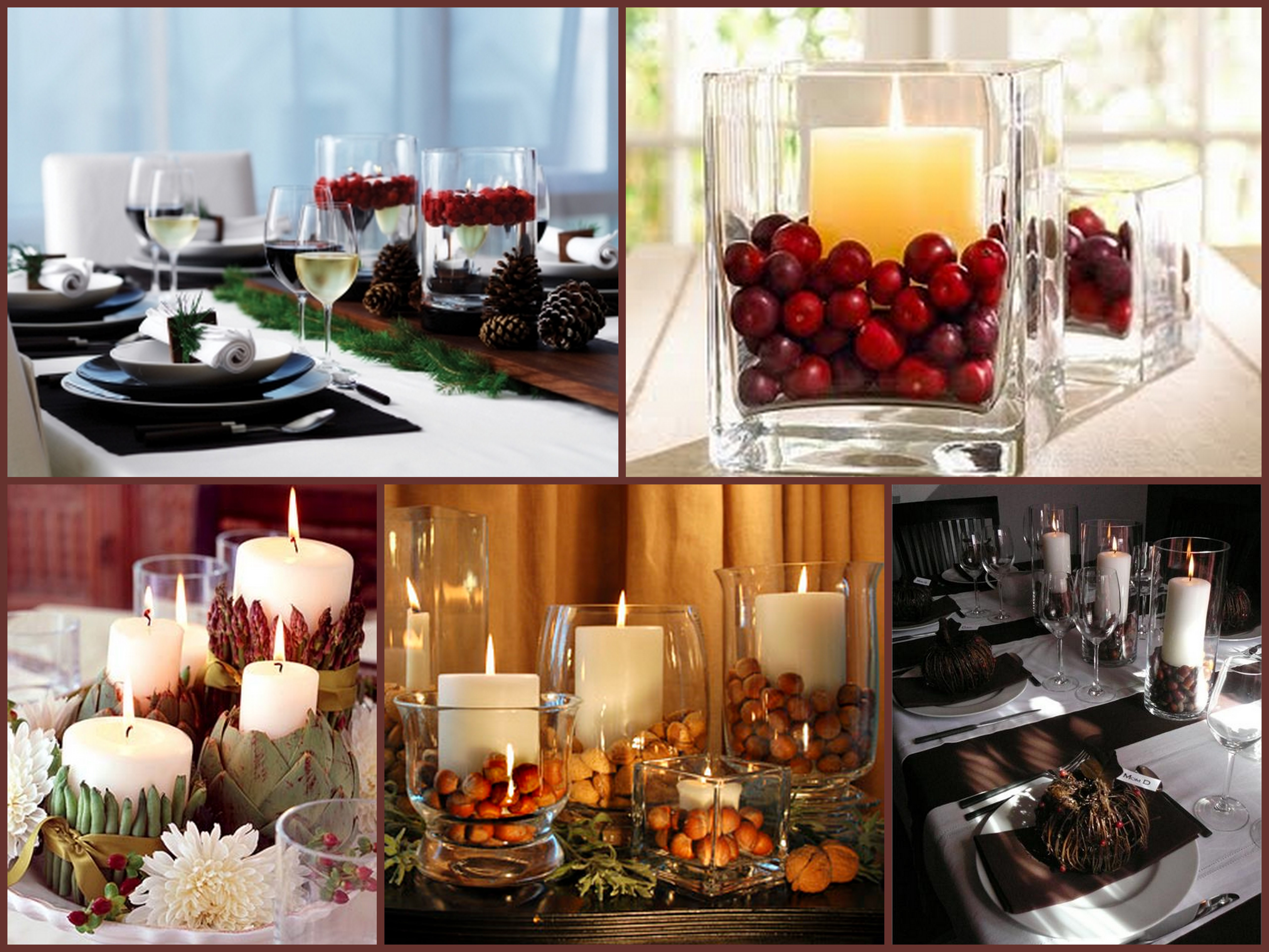 Table Decorations For Thanksgiving  Last Minute Holiday Centerpiece – A S D INTERIORS BLOG