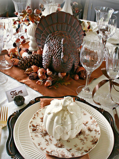 Table Decorations For Thanksgiving  Modern Furniture Design Thanksgiving Table Settings