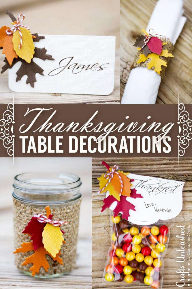 Table Decorations For Thanksgiving  25 Thanksgiving Mason Jar Ideas
