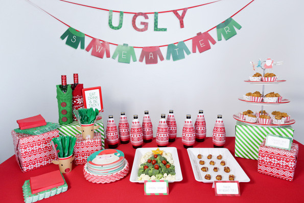 Tacky Christmas Party Ideas  Ugly Sweater Party Guide Evite