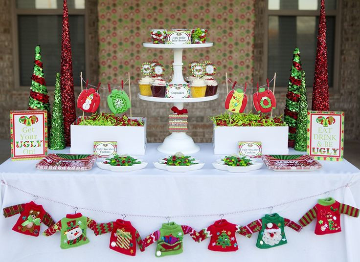 Tacky Christmas Party Ideas  Best 25 Ugly sweater party ideas on Pinterest