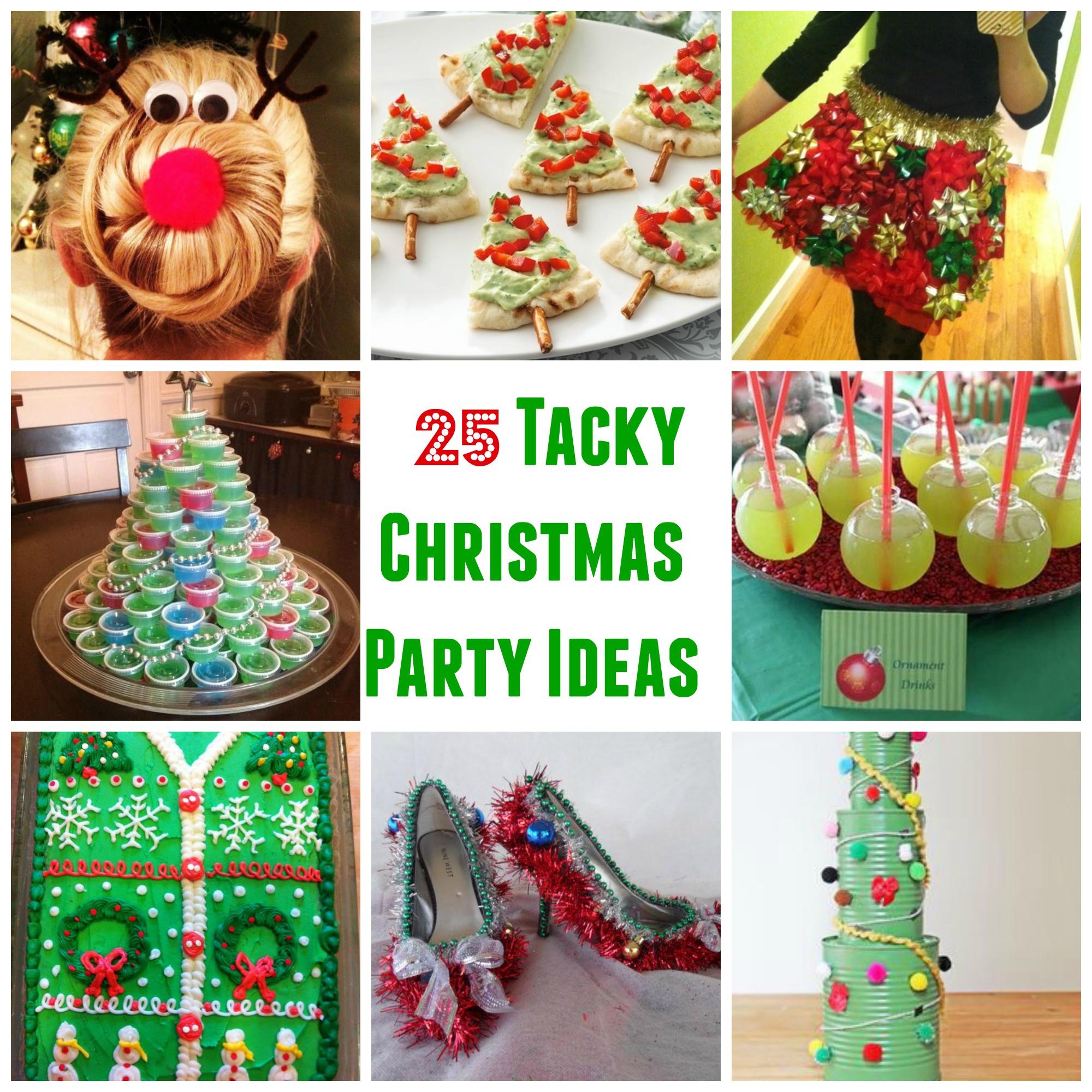 Tacky Christmas Party Ideas  25 Genius Tacky Christmas Party Ideas Sarah Scoop
