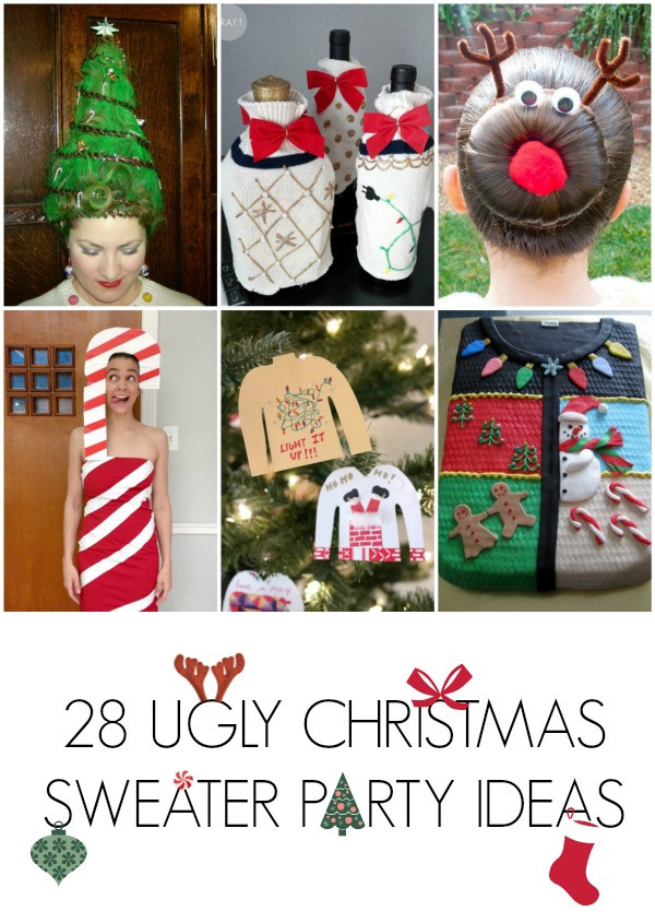 Tacky Christmas Party Ideas  28 Ugly christmas sweater party ideas C R A F T