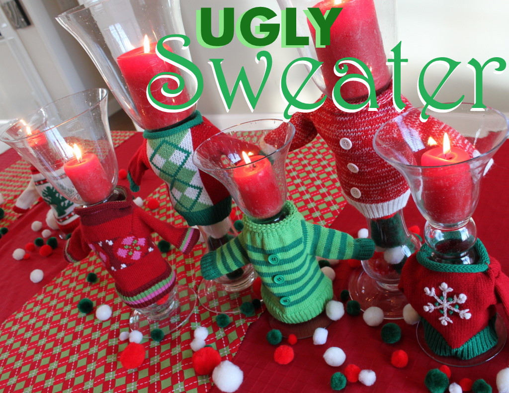 Tacky Christmas Party Ideas  Ugly Christmas Sweater Party Ideas Oh My Creative