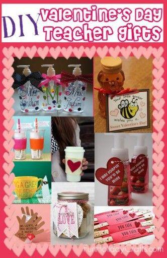 Teacher Valentines Gift Ideas  DIY Valentine s Day Teacher Gifts