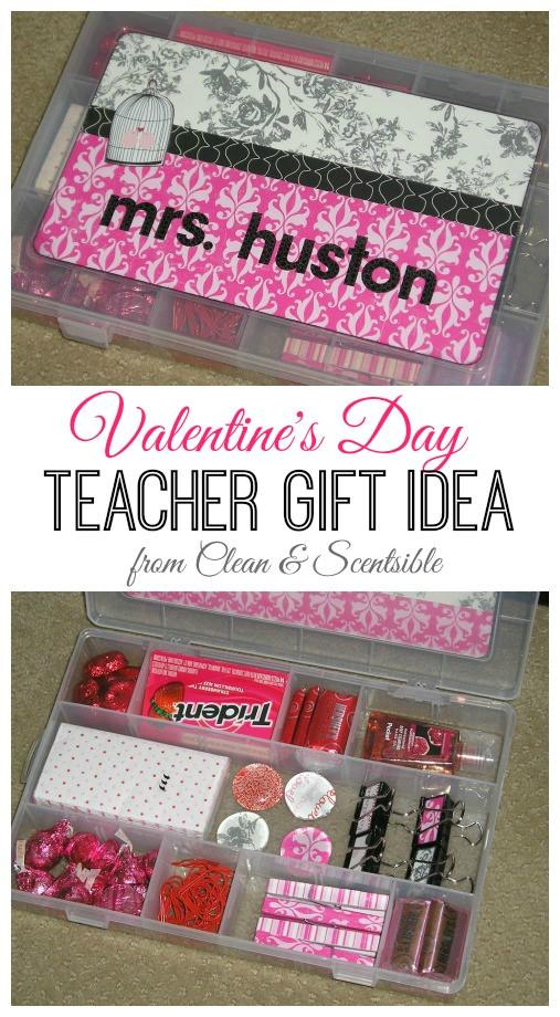 Teacher Valentines Gift Ideas  Valentine s Day Teacher Gift Clean and Scentsible