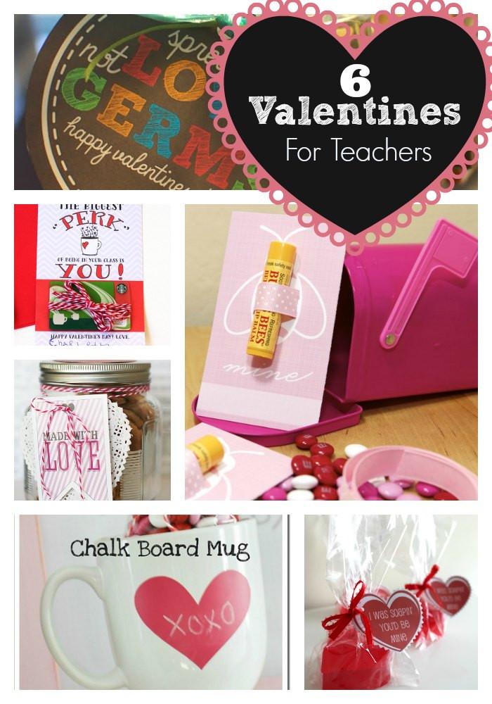 Teacher Valentines Gift Ideas  6 Easy Valentines For Teachers