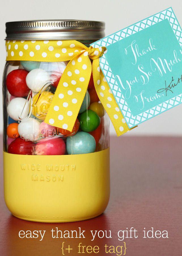 Thank Gift Ideas  17 Best ideas about Gift Jars on Pinterest