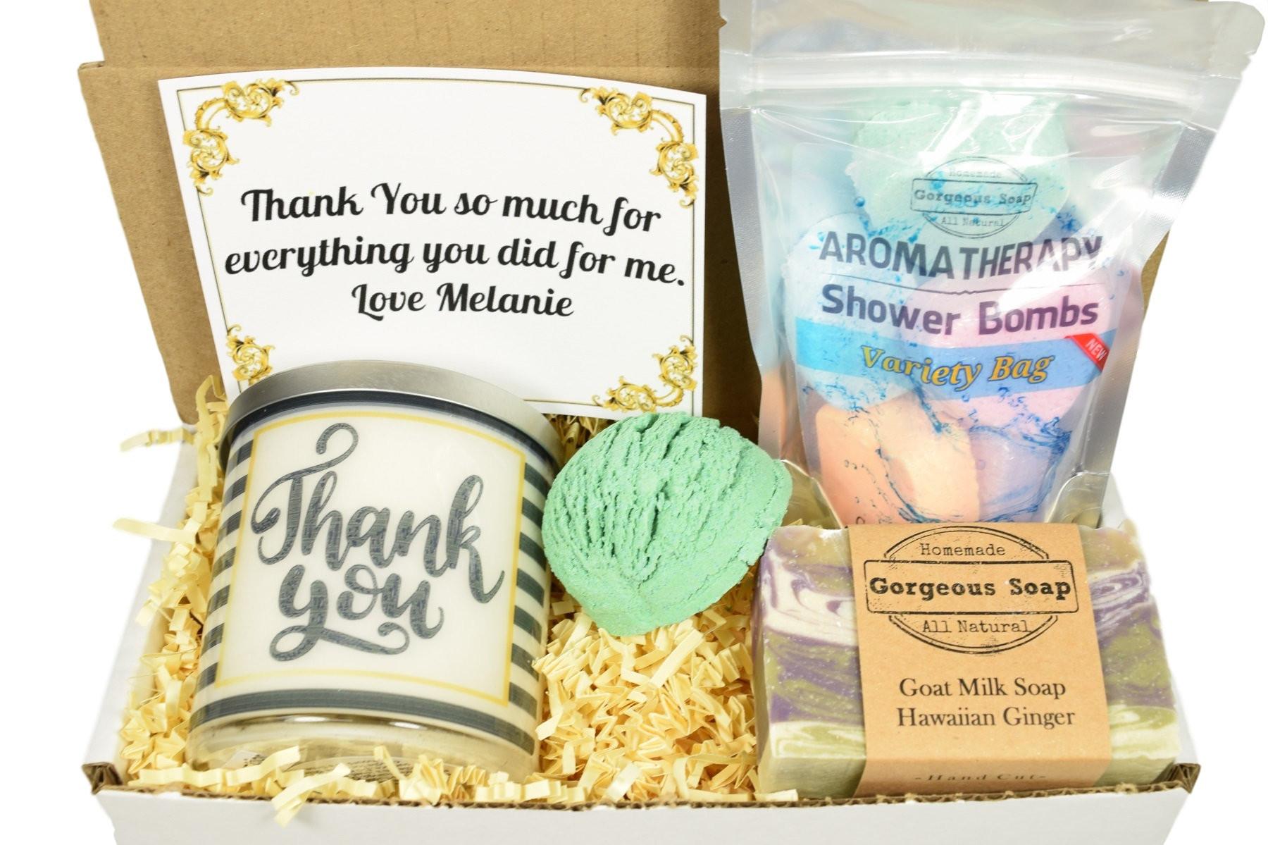 Thank Gift Ideas  Custom Thank You Gift Box Gift Ideas Appreciation Gift