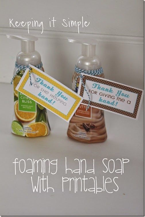 Thank Gift Ideas  Thank You Gift Idea Softsoap Foaming Hand Soap with