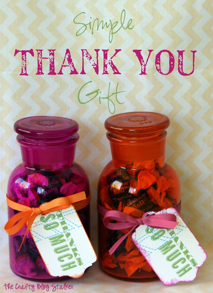 Thank Gift Ideas  Simple Thank You Gift